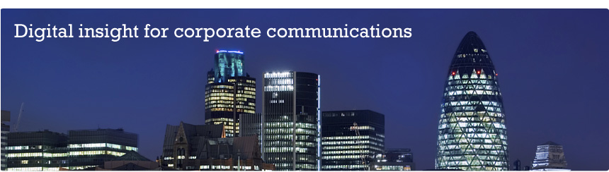 Digital insight for corporate communications